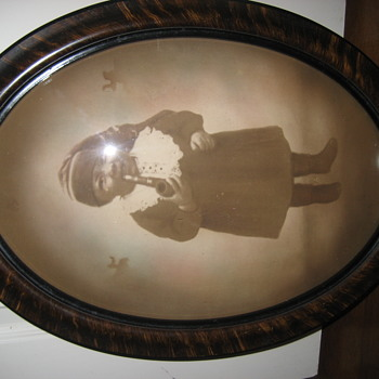 black child smoking a pipe photograph historical americana memorabilia