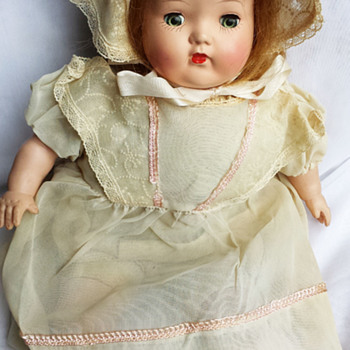 1950s Mama Doll_Unknown Maker