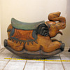 Solid Wooden Elephant Rocker