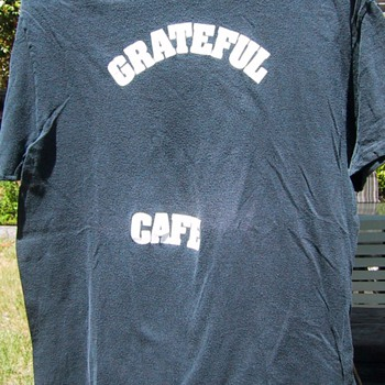 Grateful Cafe, Belltown Dead, circa 1980 - Mens Clothing
