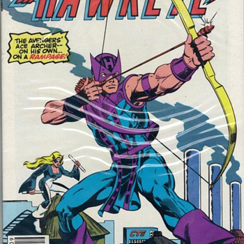 JUST FOR KICKS - COMICS - HAWKEYE - Comic Books