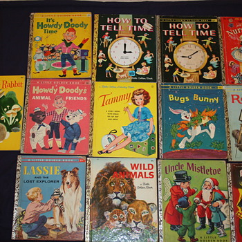 Variety of Little Golden Books - Books