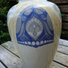 a large distel vase by nienhuis