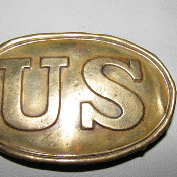 Antique U.S. Civil War Belt Buckle