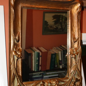 can anyone tell me about this great art nouveau frame? - Art Nouveau