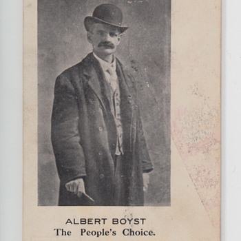 Albert Boyst Postcard The People's Choice