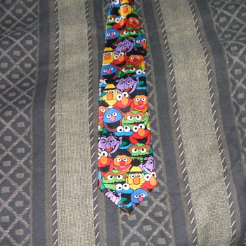 Vintage Sesame Street Men's Tie, Thought Sean and Hunter might like this - Mens Clothing