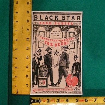 BlackStar Beer Ad