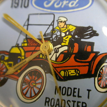 1973 Jay Ward 'Ford Model T Roadster' Wristwatch - Wristwatches