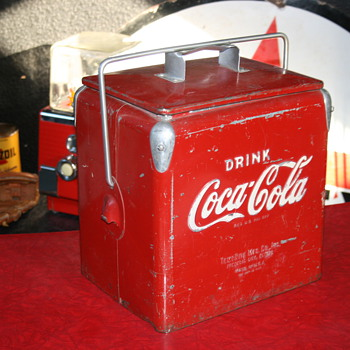 coca cola ice chest cooler