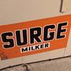 Surge Milker Sign