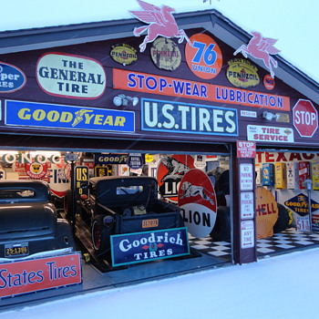 Mike's sign collection.  Lakewood Co.