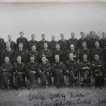 British WW11 Gunnery School June 1943 - Military and Wartime