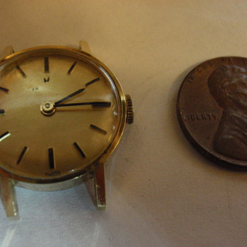 late 60's Hamilton's womens watch 20 micron