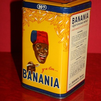 banania tin box