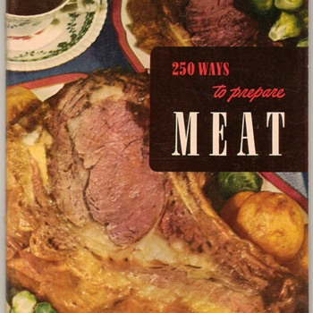"1952 - Recipe Booklet ""Preparing Meat"""