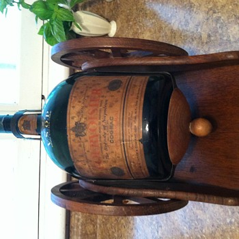 Wagon wheel Cognac bottle - Bottles