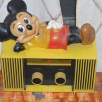 Mickey Mouse Table top Radio - Radios