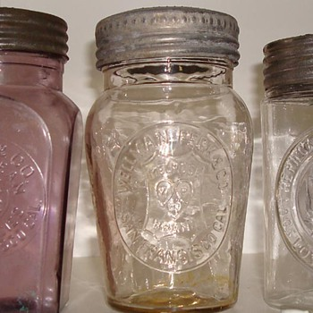 Favorite California Packer jars  - Bottles