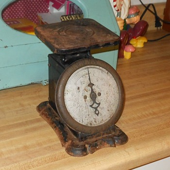 Pelouze Family Scale 24lb Turn of the Century