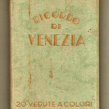 1957 - Venice Italy Tourist Photo Book