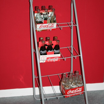 Coca cola six pack rack
