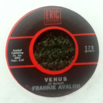 Frankie Avalon 45 Record
