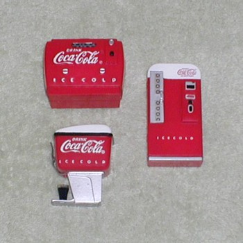 Coca Cola Fridge Magnets 1997 - Coca-Cola
