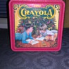 Crayola 1992 Holiday Wishes Tin Box