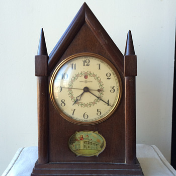 My Grand-dad's GE Cathedral Mantel Clock - Clocks