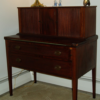 Federalist Desk by Thomas Needham - Furniture