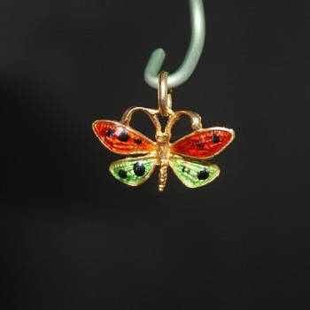 Enamel Butterfly - Fine Jewelry