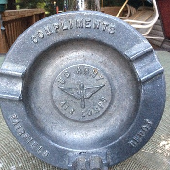 Fairfield Depot US Army Air Corps ashtray