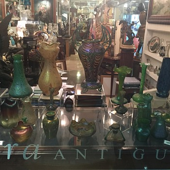 A candy store - Art Glass