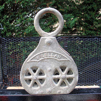 Rare Pulley ? - Tools and Hardware