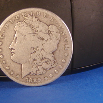 1889-CC Morgan Silver Dollar - US Coins