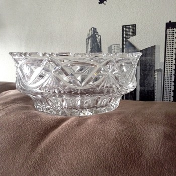 Cristall glass bowl - Glassware