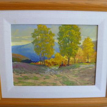 My favorite - painting by Phil Kooser - Visual Art