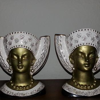 Royal Sealy Headvases