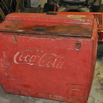 wd-12 coca cola cooler made by westinghouse - Coca-Cola