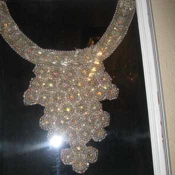Jeweled necklace .......