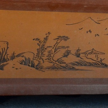 Very fine and HUGE Bonsai Pot - Asian