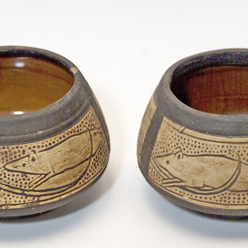 2  bowls ?? - Art Pottery