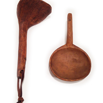 Wood or bone utensils?