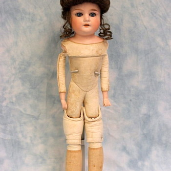 "New Doll for display Armand Marseille 370 2 DEP   18""inch"