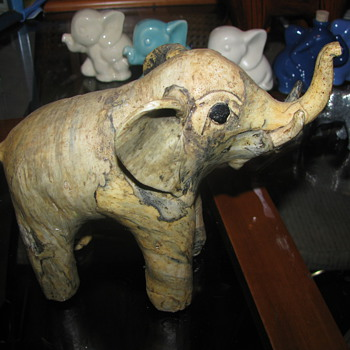 Elephant figure