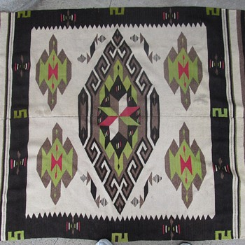 Old Native American Blanket / Rug? - Native American