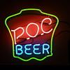 P.O.C Beer neon