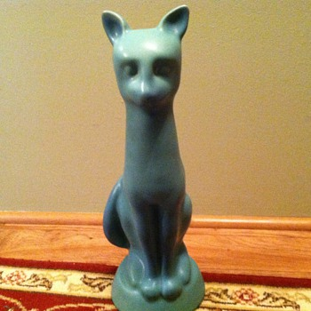 Van Briggle cat - Pottery