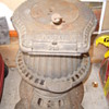 Florin Foundry Standard 213 pot belly coal stove.
